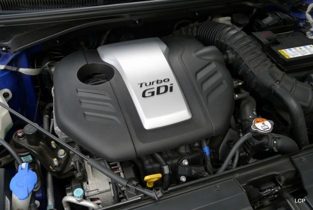 2013 Hyundai Veloster Turbo A/T   The 1.6-liter Turbo GDI inline-4
