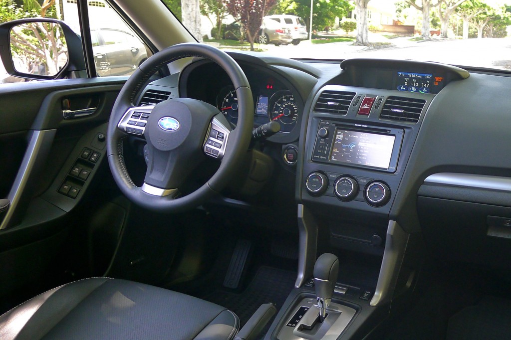 2014 Forester interior