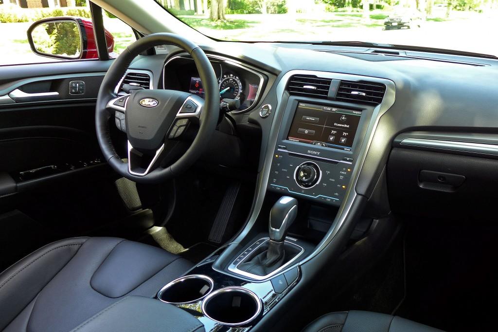 Ford Fusion Titanium Interior