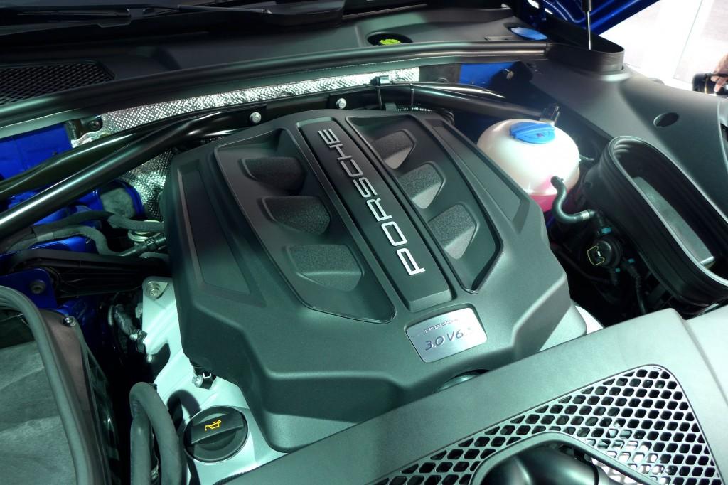 Porsche Macan Motor