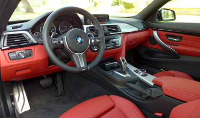 2014 BMW 435i Coupe | The interior of the 2014 BMW 435i ...