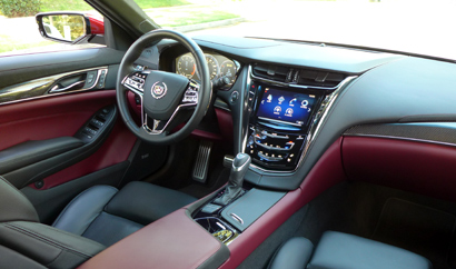 2014 Cadillac Cts 2 0t Premium Collection The Interior
