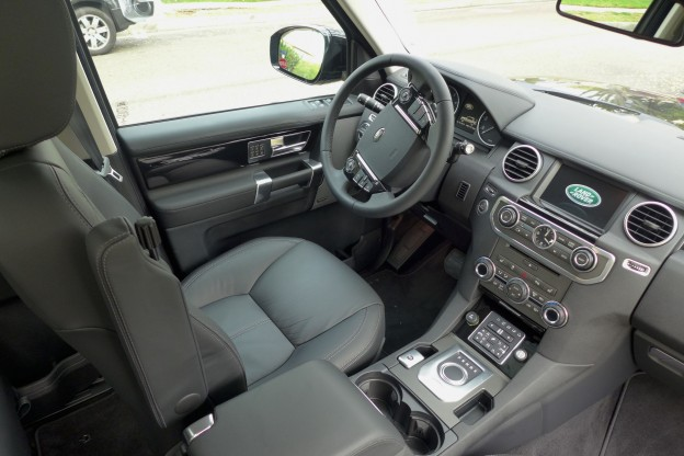 2014 Land Rover Lr4 Scv6 Lr4 Interior Automobiles Gayot