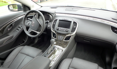 2014 Buick Lacrosse Premium The Interior Of The 2014
