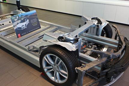 Tesla Model S drivetrain cutout