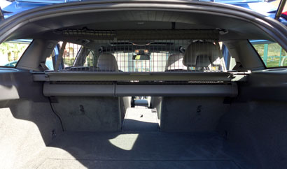 2015 Volvo V60 T5 Drive E A View From The Cargo Area Of