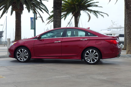 Hyundai Sonata Left Side View
