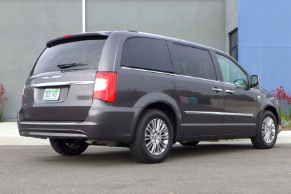 2014 Town and Country Rear Three Quarter View