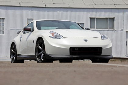 370z Nismo front view low