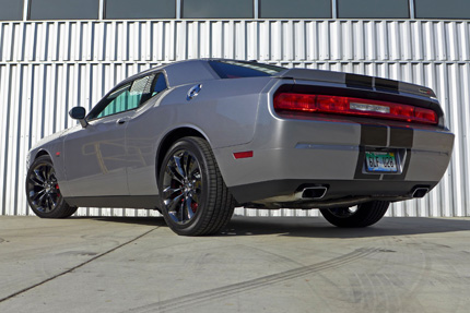 Challenger SRT Rear three quarter view