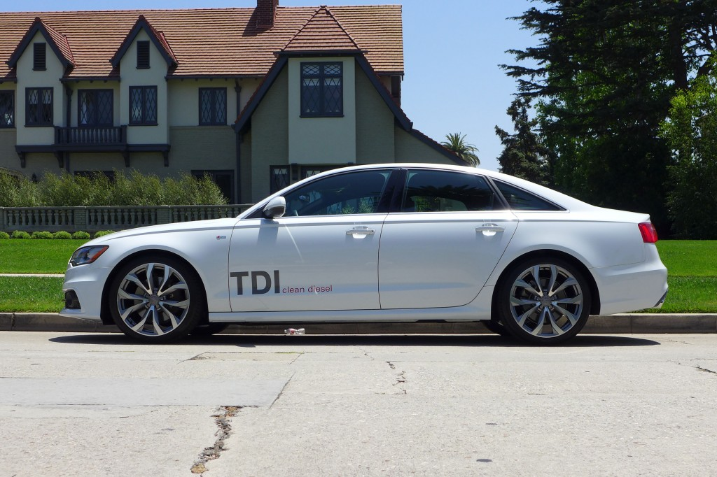 2014 Audi A6 TDI side view