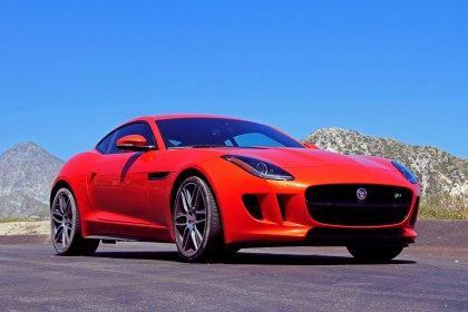 2015 F-Type R front three quarter view