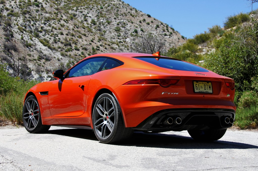 2015 jaguar f type r coupe review price photo video gayot. Black Bedroom Furniture Sets. Home Design Ideas