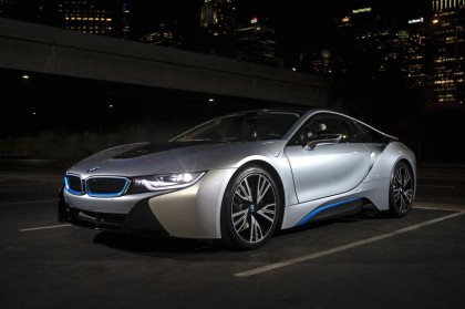 BMW i8 front three quarter