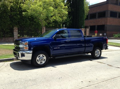 2015 Silverado Front Three Quarter View