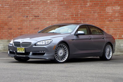 2015 Alpina B6 front three quarter view
