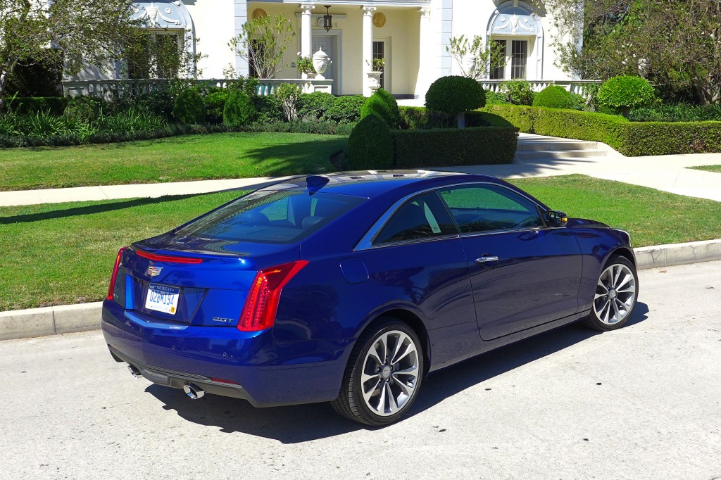 2015 cadillac ats coupe 2 0t review price photos gayot. Black Bedroom Furniture Sets. Home Design Ideas