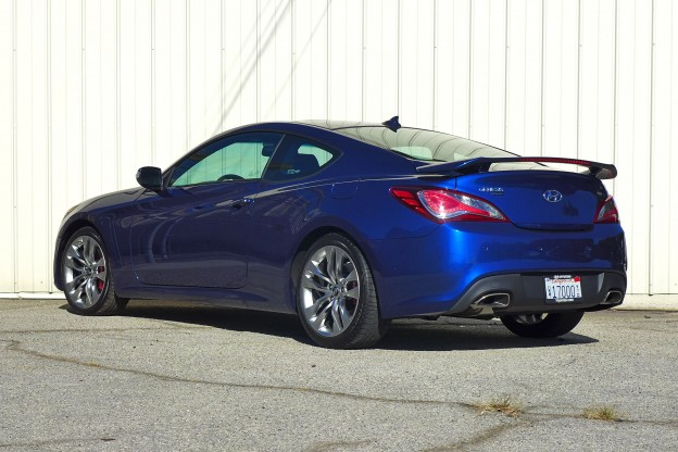 2015 hyundai genesis coupe 3 8 2015 hyundai genesis coupe 3 8 rear three quarter view. Black Bedroom Furniture Sets. Home Design Ideas