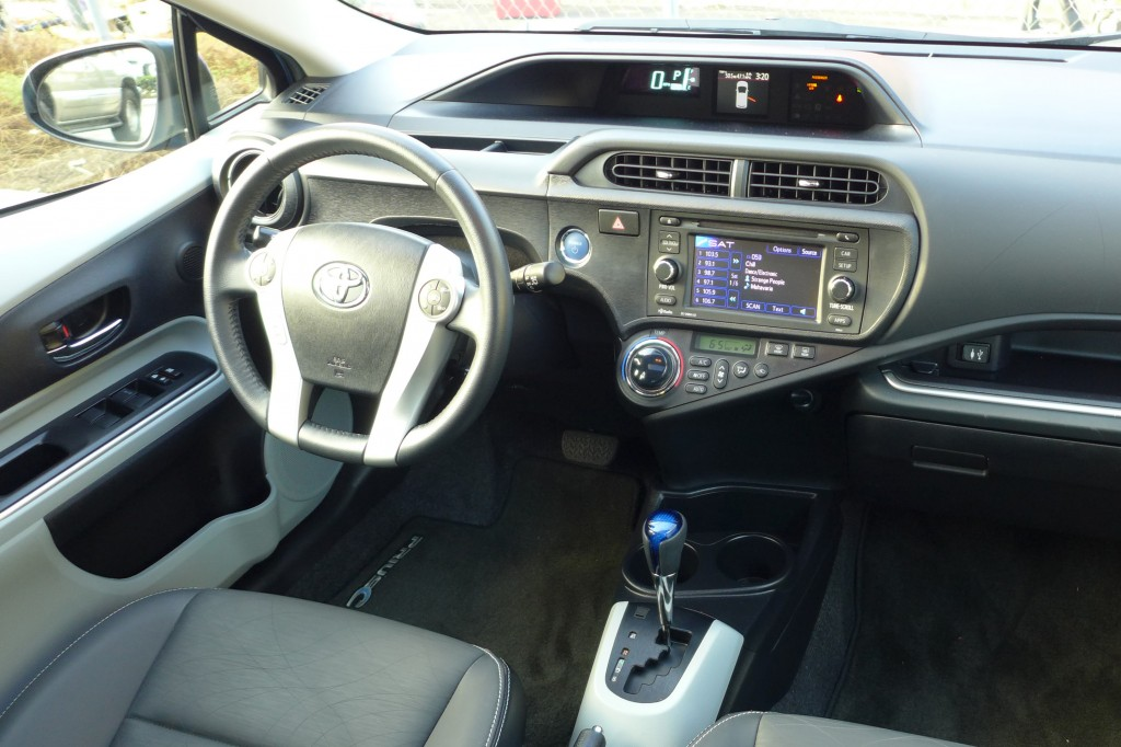 toyota prius c manual transmission