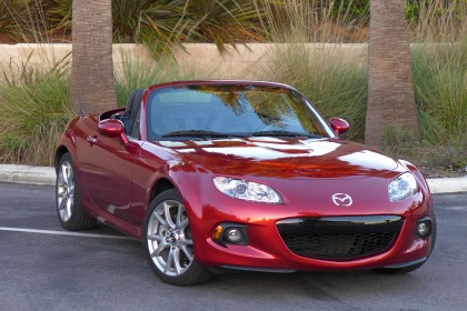 2015 MX-5 front three quarter