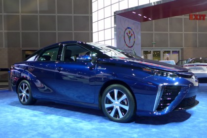 The 2015 Toyota FCV Concept