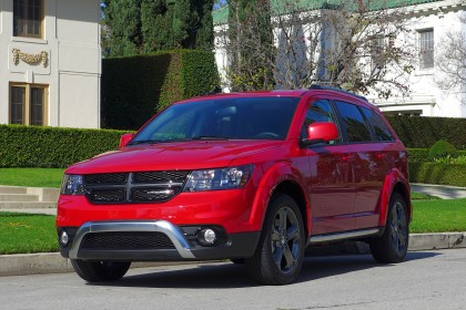 Dodge Journey front three quarter view