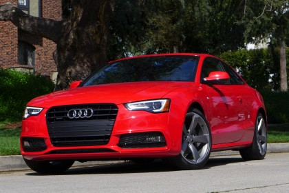 2015 Audi A5 front three quarter view