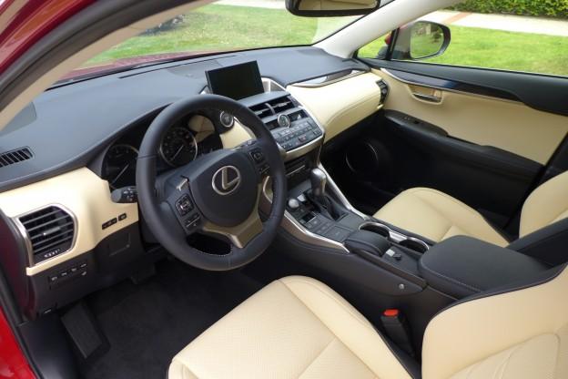 Lexus Nx 200t F Sport >> 2015 Lexus NX 200t Review | Lexus NX 200t interior - Automobiles | Gayot