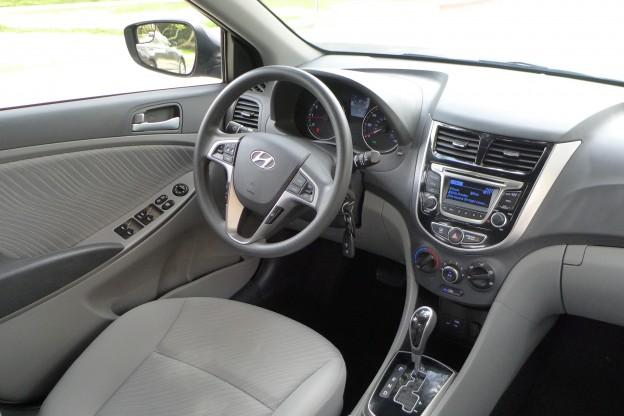 2015 Hyundai Accent Gls 2015 Accent Interior