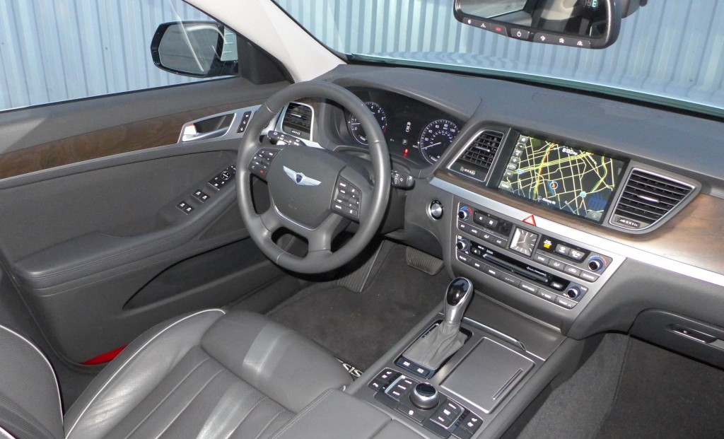 2015 Hyundai Genesis Rwd 5 0 2015 Genesis Interior Automobiles