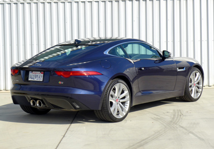 2016 jaguar f type s coupe manual review price photos video gayot. Cars Review. Best American Auto & Cars Review